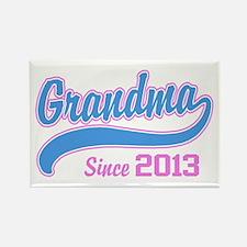 Grandma Since 2013 Rectangle Magnet