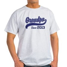 Grandpa Since 2013 T-Shirt