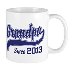 Grandpa Since 2013 Small Mug