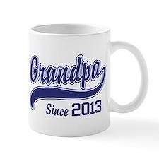 Grandpa Since 2013 Small Mugs