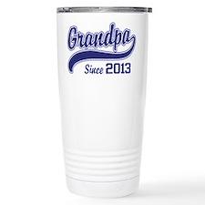 Grandpa Since 2013 Travel Mug