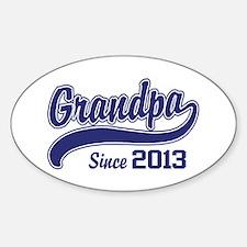 Grandpa Since 2013 Decal