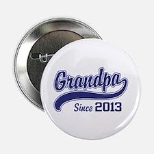 """Grandpa Since 2013 2.25"""" Button"""