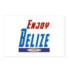 Belize Designs Postcards (Package of 8)