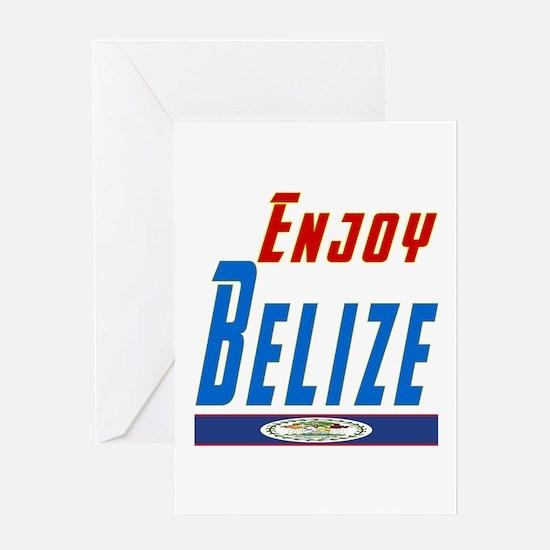 Belize Designs Greeting Card