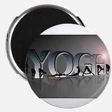 "YOGA Bold 2.25"" Magnet (100 pack)"