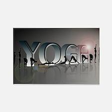 YOGA Bold Rectangle Magnet (100 pack)