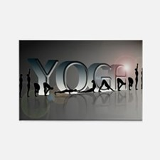YOGA Bold Rectangle Magnet