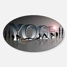 YOGA Bold Bumper Stickers