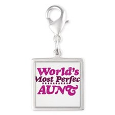 Worlds Most Perfect Aunt Charms