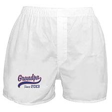Grandpa Since 2013 Boxer Shorts