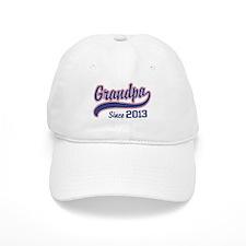 Grandpa Since 2013 Baseball Cap