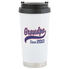 Grandpa Since 2013 Travel Mug