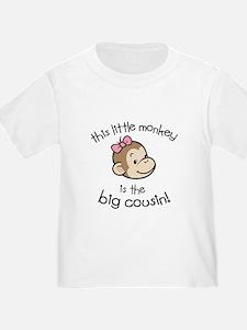 Big Cousin - Monkey Face T-Shirt