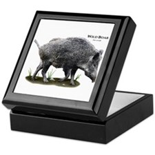 Wild Boar Keepsake Box