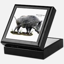 Wild Boar Keepsake Box