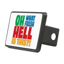 Fresh Hell Hitch Cover