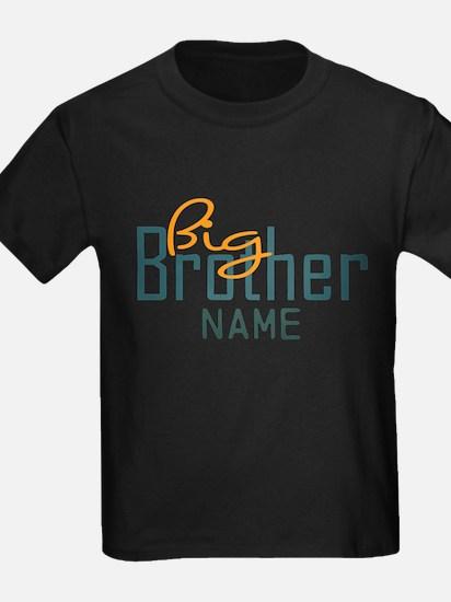 Add Name Big brother Print T