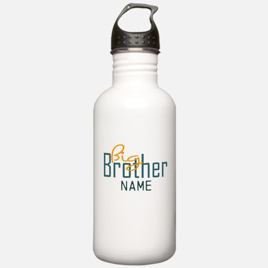 Add Name Big brother Print Sports Water Bottle