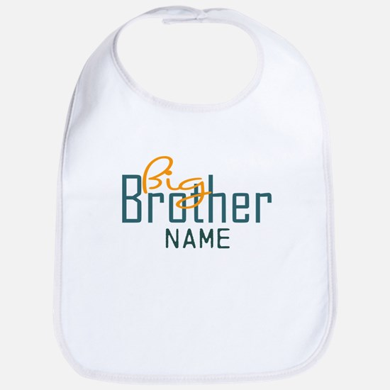 Add Name Big brother Print Bib