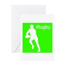 iRugby Greeting Card