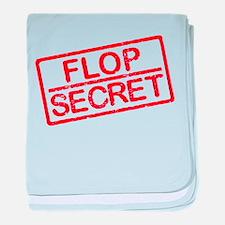 Flop Secret baby blanket