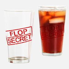 Flop Secret Drinking Glass