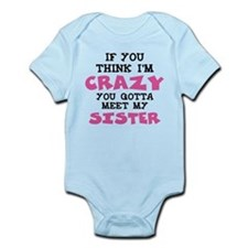 Crazy Sister Body Suit