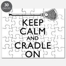 Keep Calm And Cradle On Puzzle