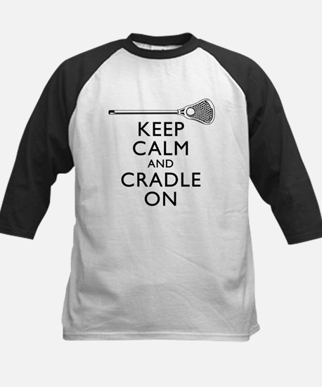 Keep Calm And Cradle On Baseball Jersey