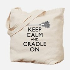 Keep Calm And Cradle On Tote Bag