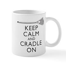Keep Calm And Cradle On Mug