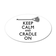 Keep Calm And Cradle On Wall Decal
