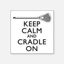 Keep Calm And Cradle On Sticker