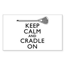 Keep Calm And Cradle On Decal