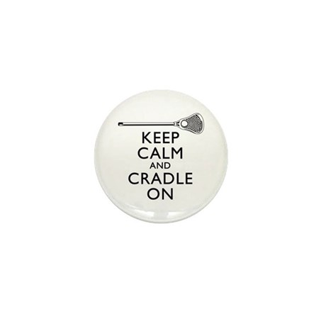 Keep Calm And Cradle On Mini Button (100 pack)