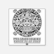 Maya - We are back since 2012 (black) Sticker