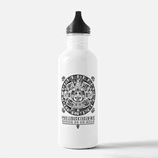 Maya - We are back since 2012 (black) Water Bottle