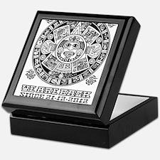 Maya - We are back since 2012 (black) Keepsake Box