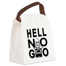 GMO OMG WTF Are We Eating? Canvas Lunch Bag