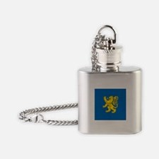 BBT Apt Flag Square Flask Necklace
