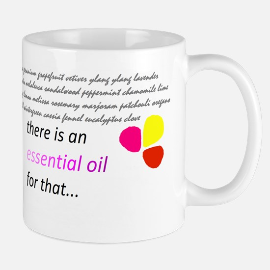 there is an essential oil for that Mug