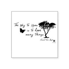 Van Gogh Quote Sticker