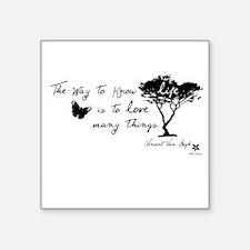 Van Gogh Quote Sticker