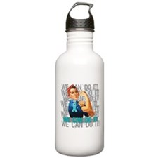Rosie The Riveter PCOS Water Bottle