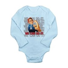 Rosie The Riveter Osteoporosis Body Suit