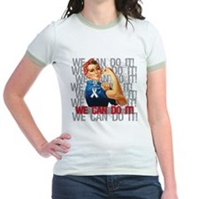 Rosie The Riveter Osteoporosis T-Shirt