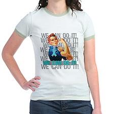 Rosie Riveter Myasthenia Gravis T-Shirt