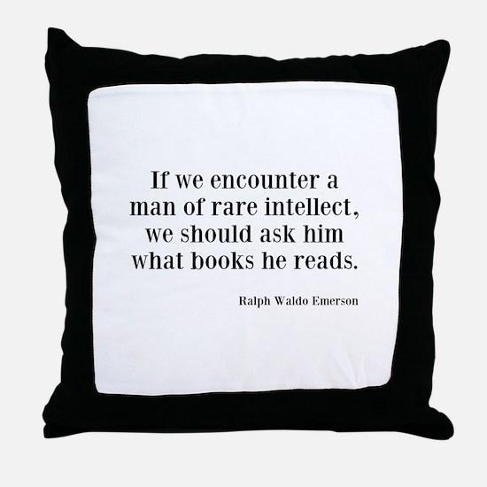 Rare Intellect Throw Pillow