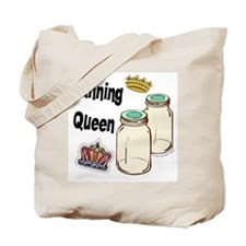 Canning Queen Tote Bag